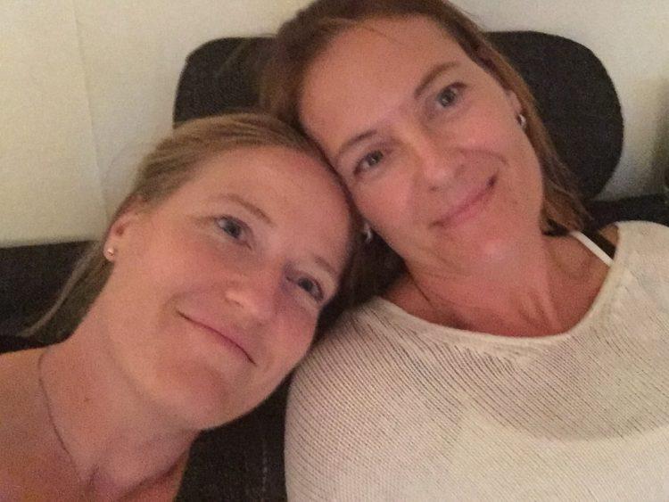 Inför Stockholm och 40-årsfesten med brudarna