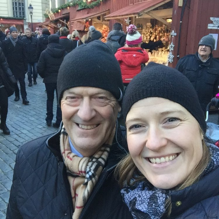Bussresa till Stockholm med Pappa