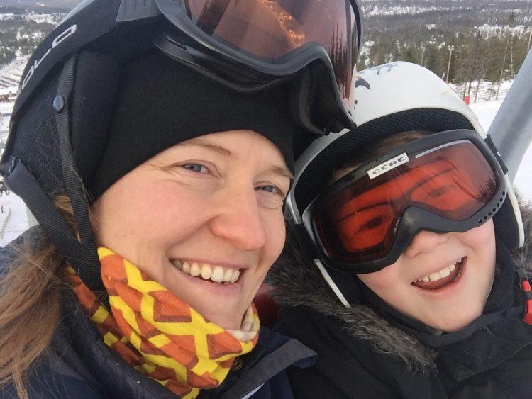 Snowboard för Ludde och mig i Tandådalen