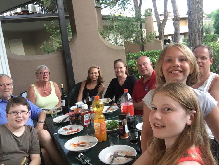 19 juni – Första dagen i Bibione