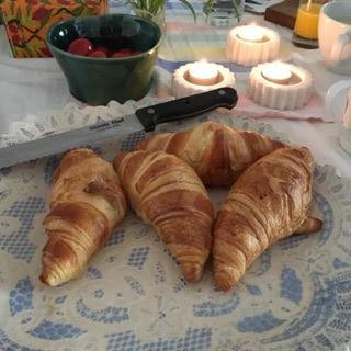 Lyxfrukost innan hemfärd